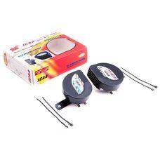 Купить Сигнал   (улитка) электрический двухтональный (черный) (пара) (mod:1)   JCAA в Интернет-Магазине LIMOTO