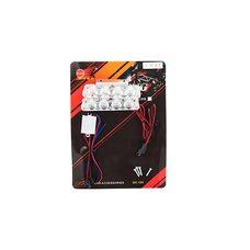 Купить Стробоскоп диодный (2шт, прямоугольные)   8 диодов   (белый, mod:JC-704)   JCAA в Интернет-Магазине LIMOTO