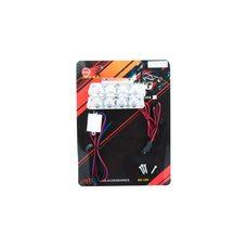 Купить Стробоскоп диодный (2шт, прямоугольные)   8 диодов   (красный, mod:JC-704)   JCAA в Интернет-Магазине LIMOTO