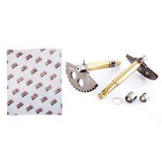 Купить Сектор заводной (полумесяц)   4T GY6 125/150   (L-129mm)   (+втулки)   MANLE в Интернет-Магазине LIMOTO