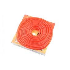 Купить Шланг топливный   Ø4mm, 20 метров   (силиконовый, красный)   ZUNA   (mod.A) в Интернет-Магазине LIMOTO