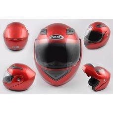 Купить Шлем трансформер   (mod:K991) (size:ХL, красный)   COM в Интернет-Магазине LIMOTO