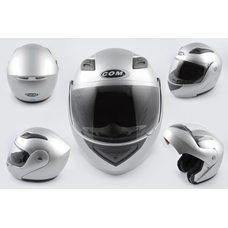 Купить Шлем трансформер   (mod:K991) (size:ХL, серый)    COM в Интернет-Магазине LIMOTO