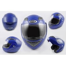 Купить Шлем трансформер   (mod:K991) (size:ХL, синий)   COM в Интернет-Магазине LIMOTO