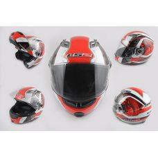 Купить Шлем трансформер   (size:XL, красно-белый, + солнцезащитные очки, EUROPE)   LS-2 в Интернет-Магазине LIMOTO
