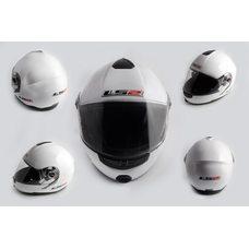 Купить Шлем трансформер   (size:L, белый, + солнцезащитные очки)   LS-2 в Интернет-Магазине LIMOTO