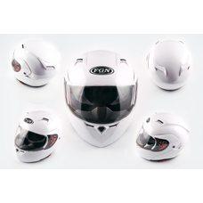 Купить Шлем трансформер   (mod:688) (size:XL, белый, солнцезащитные очки)   FGN в Интернет-Магазине LIMOTO