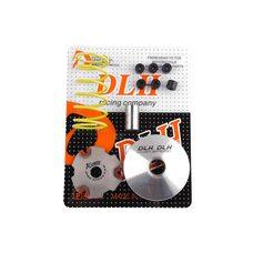 Купить Вариатор передний (тюнинг)   Suzuki AD50   (+палец, ролики 6шт, пружина торкдрайвера)   DLH в Интернет-Магазине LIMOTO