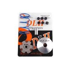Купить Вариатор передний (тюнинг)   Honda DIO AF18   (+палец, ролики 6шт, пружина торкдрайвера)   DLH в Интернет-Магазине LIMOTO