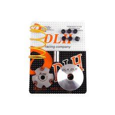 Купить Вариатор передний (тюнинг)   Honda DIO AF34   (+палец, ролики 6шт, пружина торкдрайвера)   DLH в Интернет-Магазине LIMOTO
