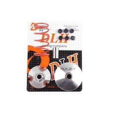 Купить Вариатор передний (тюнинг)   Yamaha JOG 90   (+палец, ролики 6шт, пружина торкдрайвера)   DLH в Интернет-Магазине LIMOTO