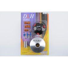 Купить Вариатор передний (тюнинг)   Suzuki AD100   (ролики латунь 9шт, палец, пружины сцепления)   DLH в Интернет-Магазине LIMOTO