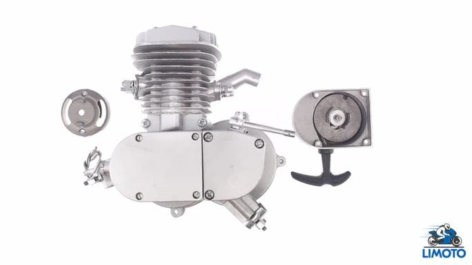 Купить Двигатель   Веломотор   (80cc, голый, + стартер)   KOMATCU   (mod.A) в Интернет-Магазине LIMOTO