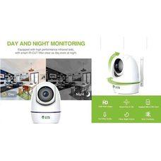 Купить Беспроводная поворотная Wi-Fi камера   (IP SMART, FHD 720P, 360, управление с телефона, питание USB или 220V через адаптер) в Интернет-Магазине LIMOTO