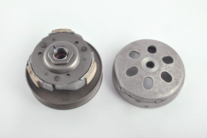 Вариатор задний   4T GY6 125/150   (с барабаном)   F-64