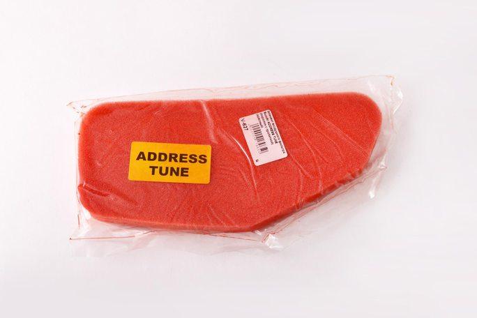 Купить Элемент воздушного фильтра   Suzuki ADDRESS TUNE   (поролон с пропиткой)   (красный)   AS в Интернет-Магазине LIMOTO