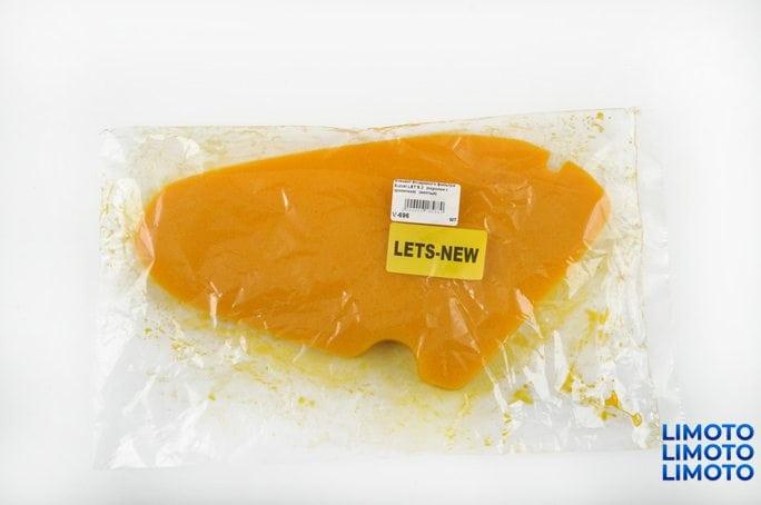 Купить Элемент воздушного фильтра   Suzuki LETS 2   (поролон с пропиткой)   (желтый)   AS в Интернет-Магазине LIMOTO