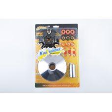 Купить Вариатор передний (тюнинг)   4T GY6 125   (ролики, палец, пружины, скользители)   KOK RIDERS в Интернет-Магазине LIMOTO
