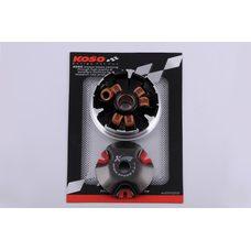 Купить Вариатор передний (тюнинг)   Yamaha JOG 90, 2T Stels 50   (медно-граф. втулка, р. латунь)   KOSO в Интернет-Магазине LIMOTO