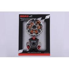Купить Вариатор передний (тюнинг)   Honda DIO AF18   (медно-граф. втулка, ролики латунь)   KOSO в Интернет-Магазине LIMOTO