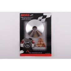 Купить Вариатор передний (тюнинг)   Honda DIO AF27   (медно-граф. втулка, ролики латунь)   KOSO в Интернет-Магазине LIMOTO