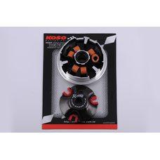 Купить Вариатор передний (тюнинг)   Yamaha BWS 100   (медно-граф. втулка, ролики латунь)   KOSO в Интернет-Магазине LIMOTO
