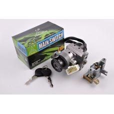 Купить Замок зажигания (комплект)   Yamaha BWS 100 4VP   EURORUN в Интернет-Магазине LIMOTO
