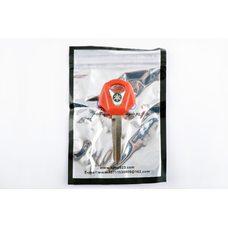 Купить Ключ замка зажигания (заготовка)   Yamaha JOG   (с эмблемой, длинный, красный)   KOMATCU в Интернет-Магазине LIMOTO