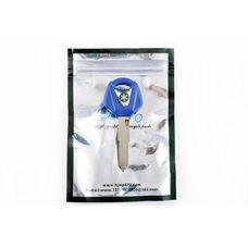 Купить Ключ замка зажигания (заготовка)   Yamaha JOG   (с эмблемой, длинный, синий)   KOMATCU в Интернет-Магазине LIMOTO