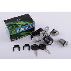 Купить Замок зажигания (комплект)   Honda DIO Live AF34/35   (с косым креплением)   EURORUN в Интернет-Магазине LIMOTO