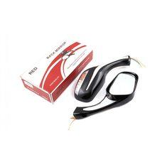 Купить Зеркала   (mod:Мерседес)   (черные с поворотами)   RED в Интернет-Магазине LIMOTO