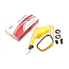 Купить Зеркала   (mod:Мерседес)   (желтые с поворотами)   RED в Интернет-Магазине LIMOTO